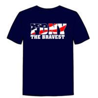 Bravest Flag T-shirt bck