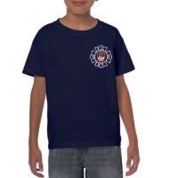 Kids Bravest Flag T-shirt frnt