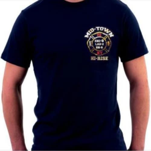 Midtown-E8-L2-House T-shirt frnt