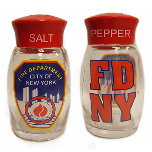 FDNY Salt & Pepper Shakers