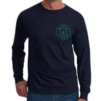 FDNY Ugly Christma Sweater Long Sleeve T-shirt frnt