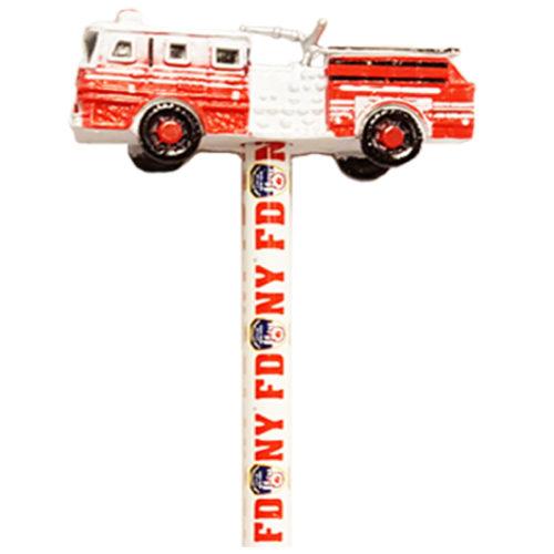 Firetruck Pencil Topper 2