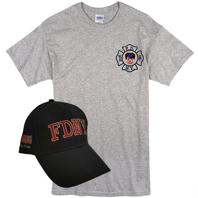 Fdny Duty Shirt Amp Hat Combo 2 Colors Fdny Shop