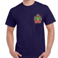 E273 L129 Godzilla Flushing House T-shirt frnt
