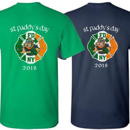 Fdny St Patrick S Day 2018 T Shirt Fdny Shop
