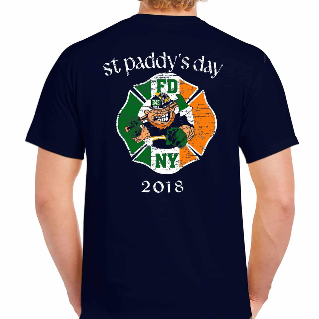 7add9b028 FDNY ST. PATRICK'S DAY 2018 T-SHIRT – FDNY Shop