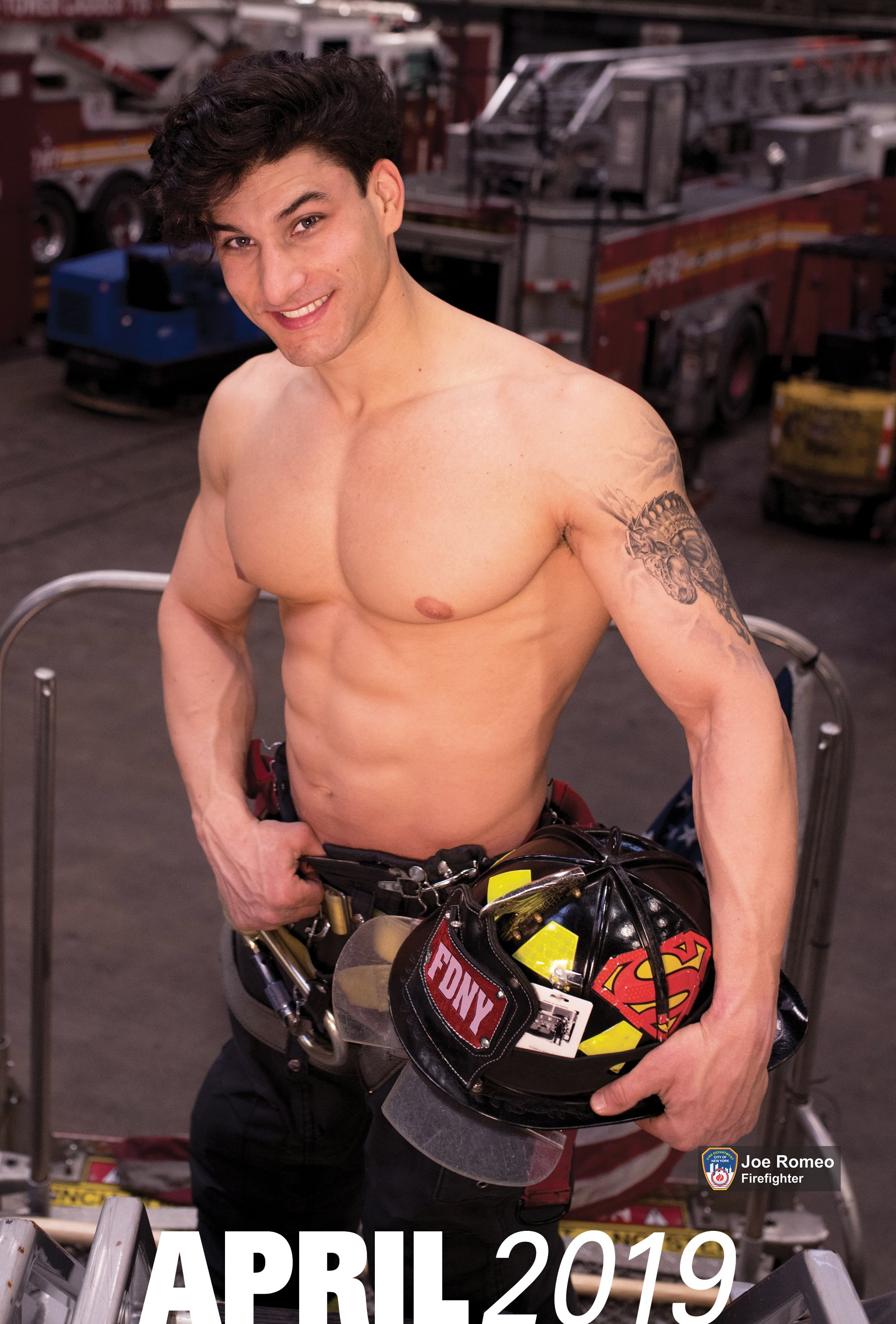 2019 OFFICIAL FDNY CALENDAR – DUAL MEN & WOMEN – SPECIAL ...