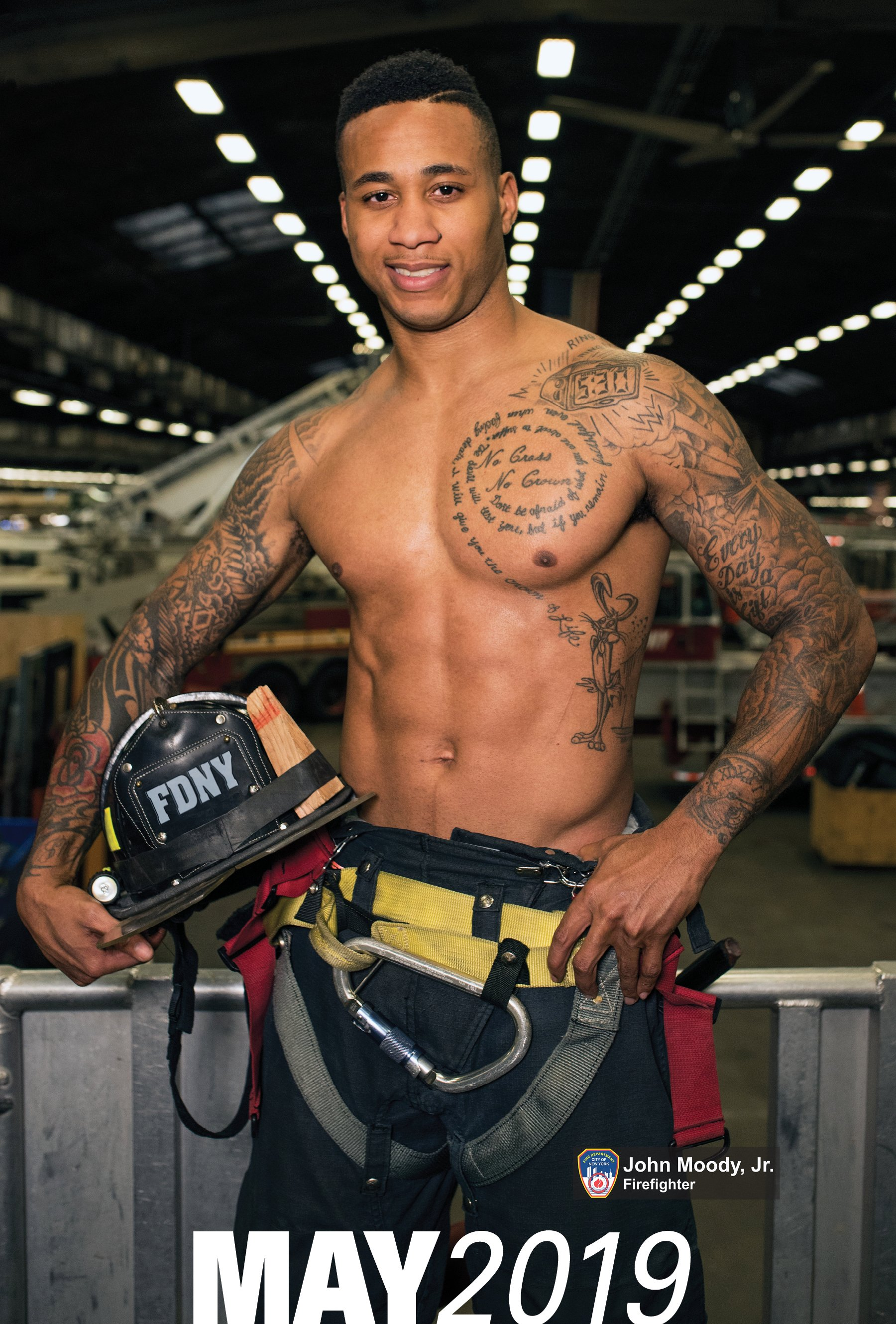 Nyc December 2019 Calendar 2019 OFFICIAL FDNY CALENDAR – DUAL MEN & WOMEN – SPECIAL OFFER