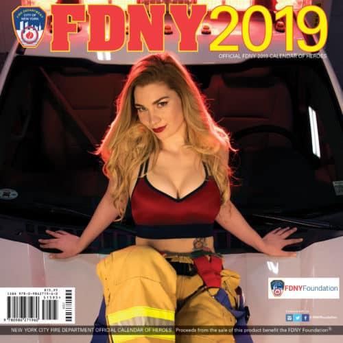 2019 Girl Calendar 2019 OFFICIAL FDNY CALENDAR – DUAL MEN & WOMEN – SPECIAL OFFER