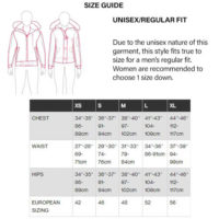 CG Size Chart & Guide