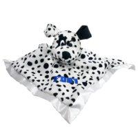 Dalmatian Baby Blanket Blue_1