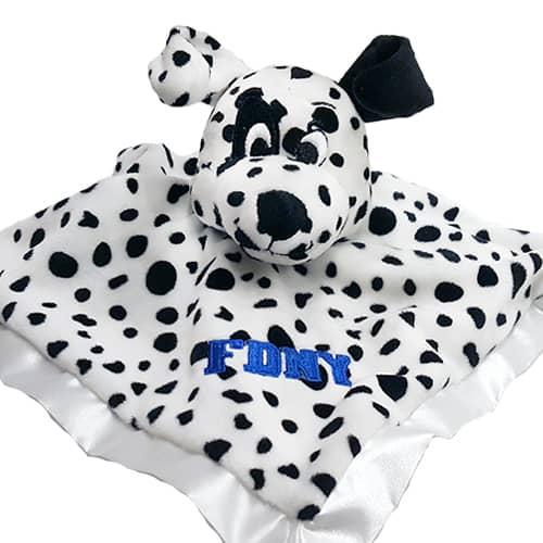 Dalmatian Baby Blanket Blue_2