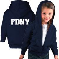 FDNY Hoodie - Toddler Navy Duo