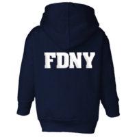 FDNY Hoodie - Toddler Navy back
