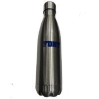 FDNY Metal Water Bottle - Silver