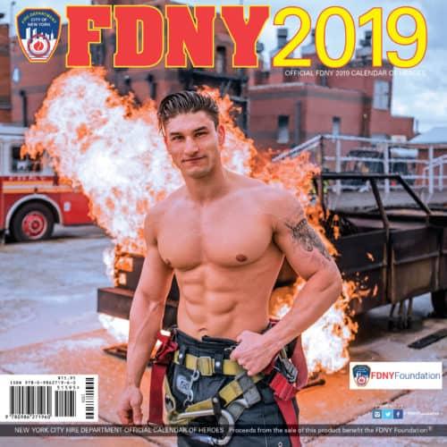 Calendario For Mens 2020.2019 Official Fdny Calendar Dual Men Women Special Offer