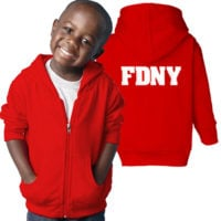 FDNY Hoodie - Toddler Red Duo 2