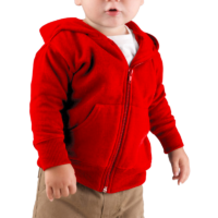 FDNY_Hoodie_Infant_Red