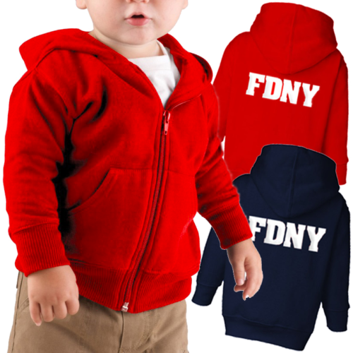 FDNY_Hoodie_Infant_Red_trio