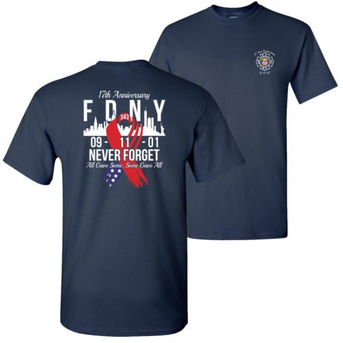 9734bda0f74 9 11 17TH ANNIVERSARY TEE LIMITED ED. – FDNY Shop