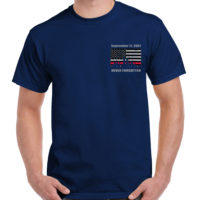 9-11 never forget tee TL 138 17th Ed frnt