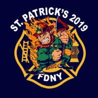 ST PATS DAY 19 logo bk - NAVY