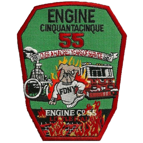 Engine 55 Little Italy Patch
