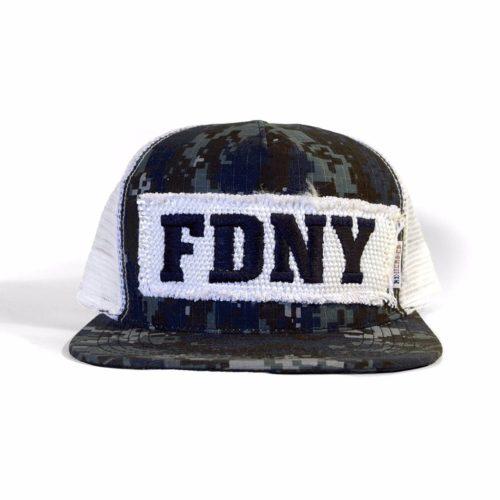 dffcca595 FDNY HOSE DIGI CAMO ROOKIE TRUCKER HAT