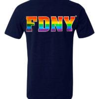 FDNY Emblem Pride Back