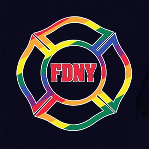 FDNY Pride 2019 front logo sm - Navy