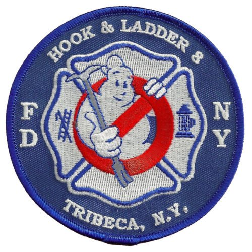 Hook & Ladder 8 Tribeca Ghostbusters Patch