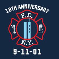 FDNY 18th Anniv frnt logo