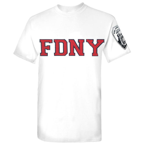 Throwback FDNY Tee frnt