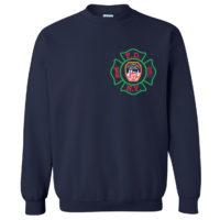 FDNY Christmas Sweatshirt 2019 front