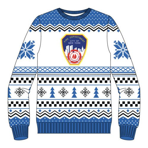 FDNY Ugly Christmas Sweater